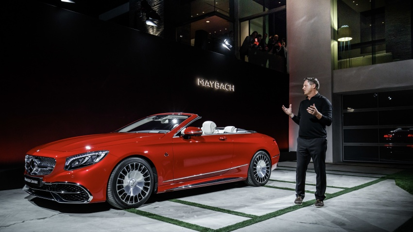 Mercedes-Maybach S650 Cabriolet – 300 units only Image #580381