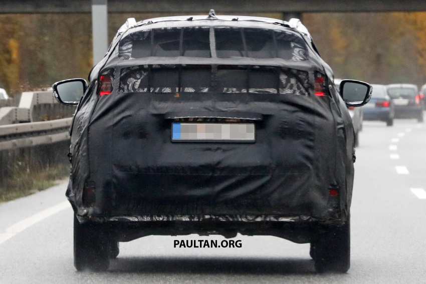 SPYSHOTS: New Mitsubishi ASX, including interior Image #584526