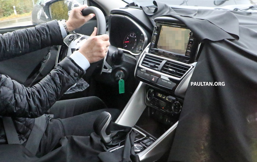SPYSHOTS: New Mitsubishi ASX, including interior Image #584515