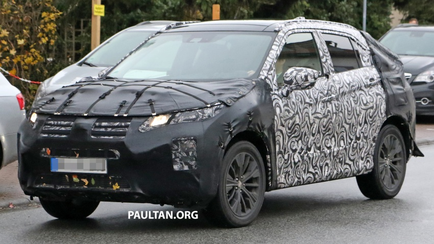 SPYSHOTS: New Mitsubishi ASX, including interior Image #584519