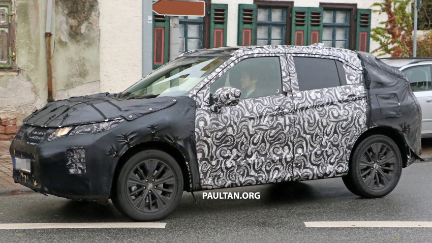 SPYSHOTS: New Mitsubishi ASX, including interior Image #584521