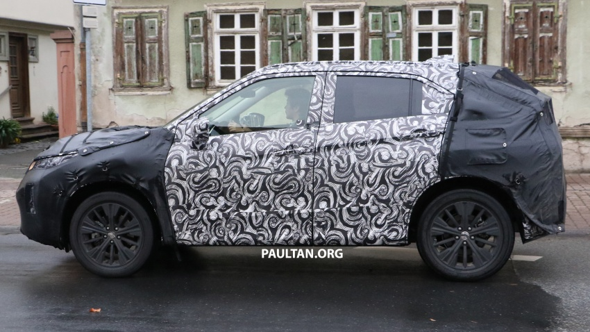 SPYSHOTS: New Mitsubishi ASX, including interior Image #584522