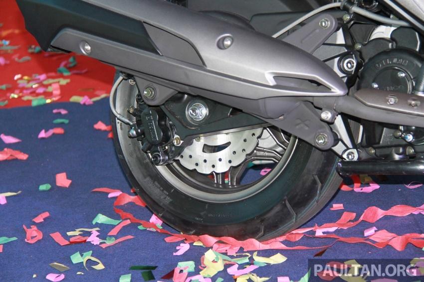 Modenas Karisma 125, Elegan 250 dan Downtown 250i dilancar – tiga skuter hasil kerjasama dengan Kymco Image #584813