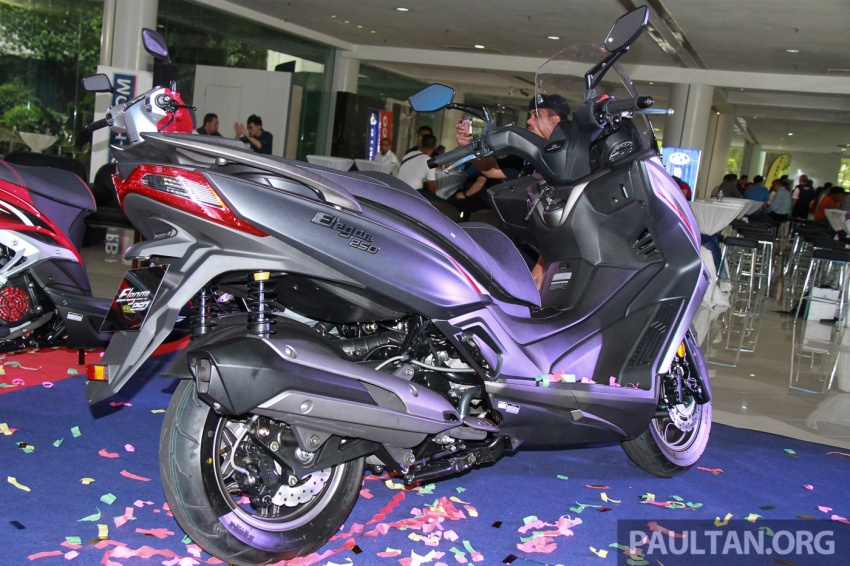 Modenas Karisma 125, Elegan 250 dan Downtown 250i dilancar – tiga skuter hasil kerjasama dengan Kymco Image #584816