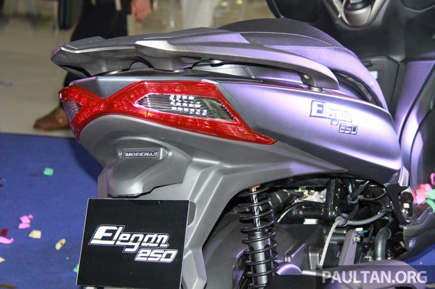 Modenas Karisma 125, Elegan 250 dan Downtown 250i dilancar – tiga skuter hasil kerjasama dengan Kymco Image #584817