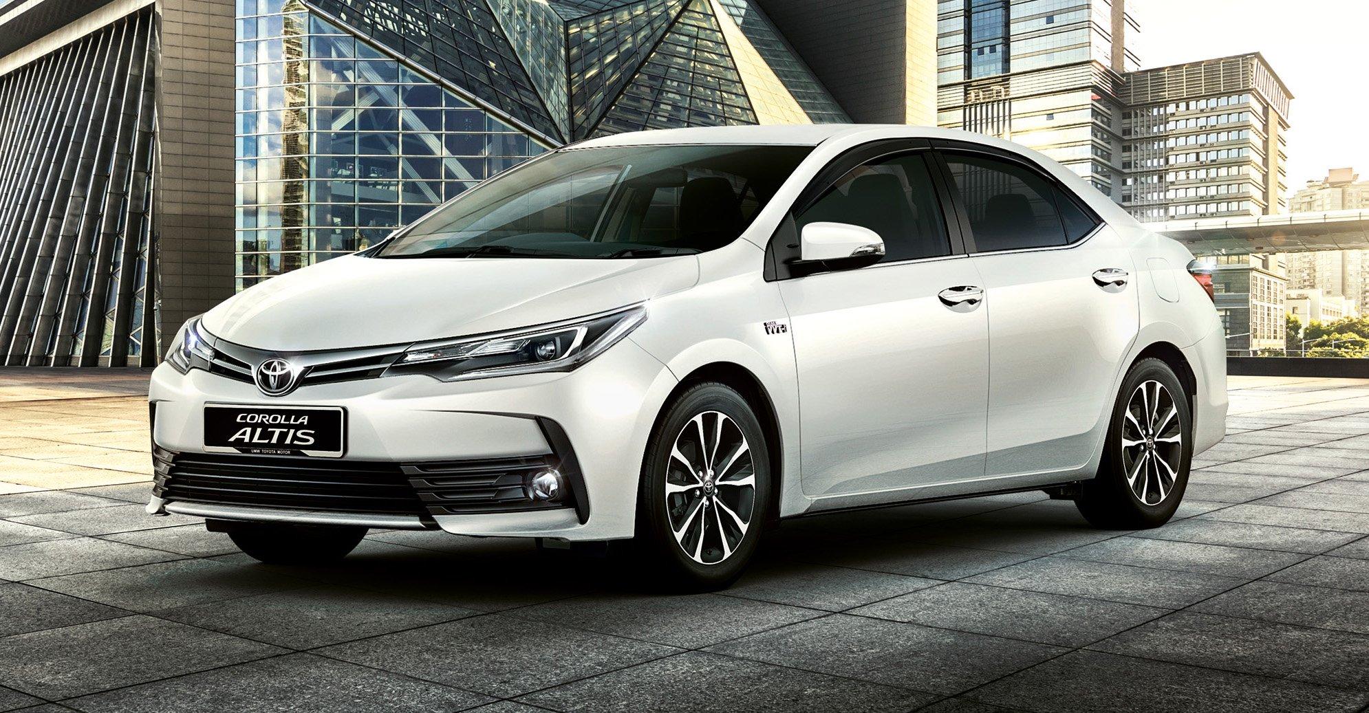 Toyota Corolla Altis Facelift Malaysian Specs Revealed