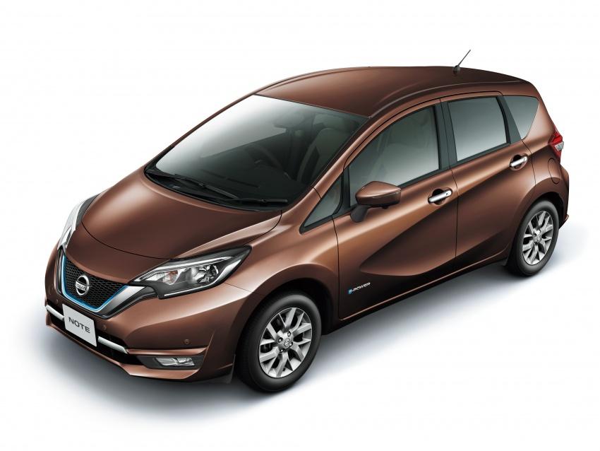 Nissan Note e-Power detailed – range extender hybrid without plug-in socket, 1.2L engine, 37.2 km per litre Image #574174
