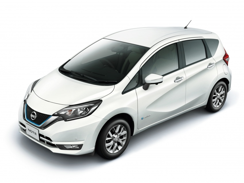 Nissan Note e-Power detailed – range extender hybrid without plug-in socket, 1.2L engine, 37.2 km per litre Image #574176