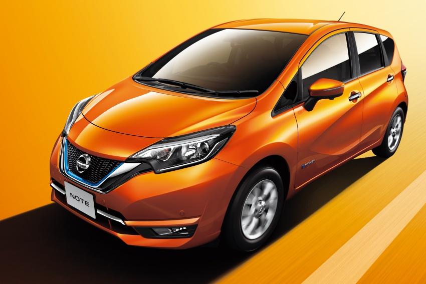 Nissan Note e-Power detailed – range extender hybrid without plug-in socket, 1.2L engine, 37.2 km per litre Image #574187