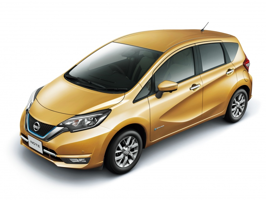 Nissan Note e-Power detailed – range extender hybrid without plug-in socket, 1.2L engine, 37.2 km per litre Image #574161