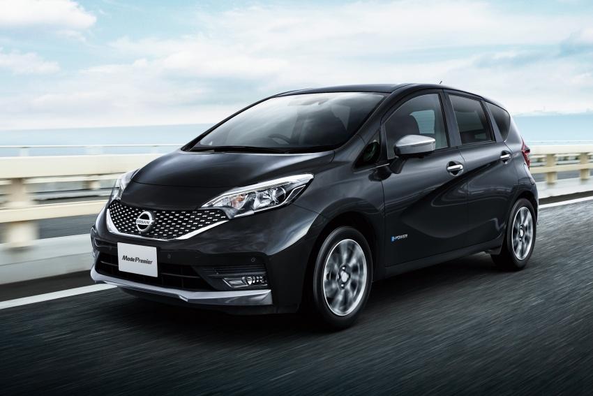 Nissan Note e-Power detailed – range extender hybrid without plug-in socket, 1.2L engine, 37.2 km per litre Image #574193