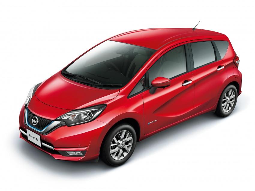 Nissan Note e-Power detailed – range extender hybrid without plug-in socket, 1.2L engine, 37.2 km per litre Image #574164