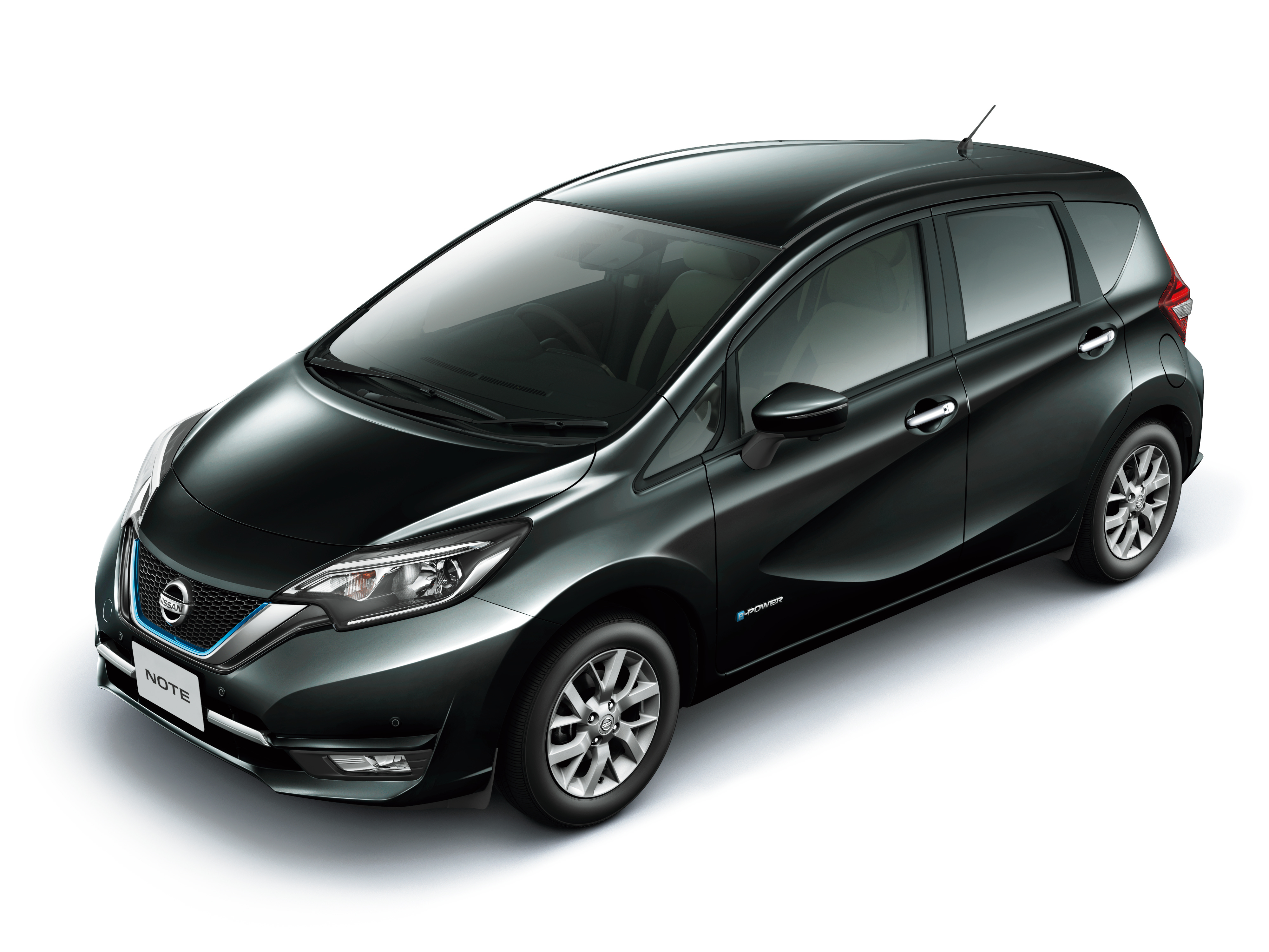 nissan note e power detailed range extender hybrid without plug in socket 1 2l engine 37 2. Black Bedroom Furniture Sets. Home Design Ideas