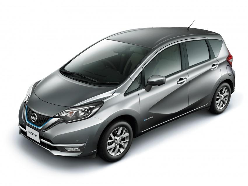 Nissan Note e-Power detailed – range extender hybrid without plug-in socket, 1.2L engine, 37.2 km per litre Image #574168