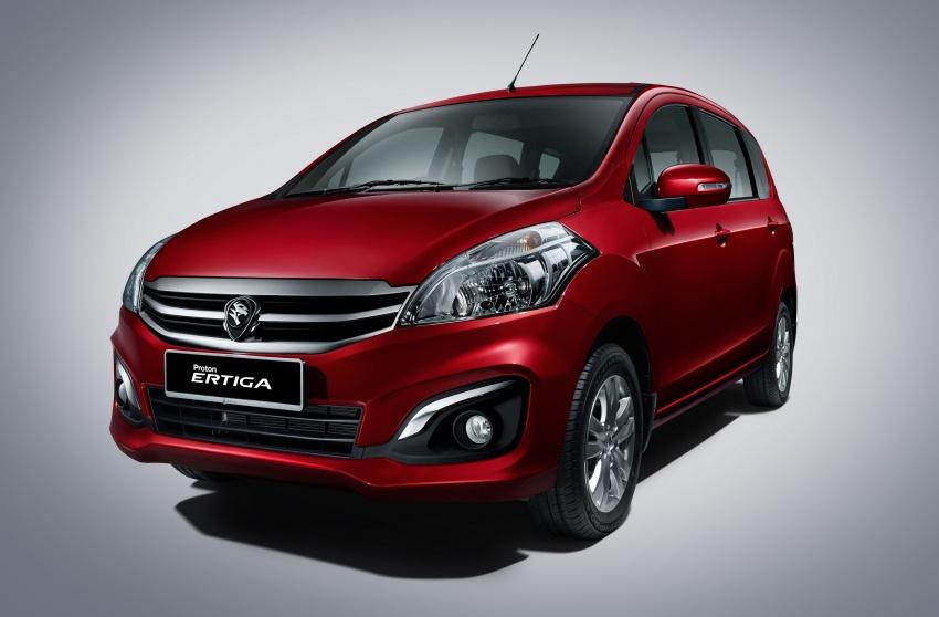 Proton Ertiga MPV launched in Malaysia – RM59k-65k Image #584069