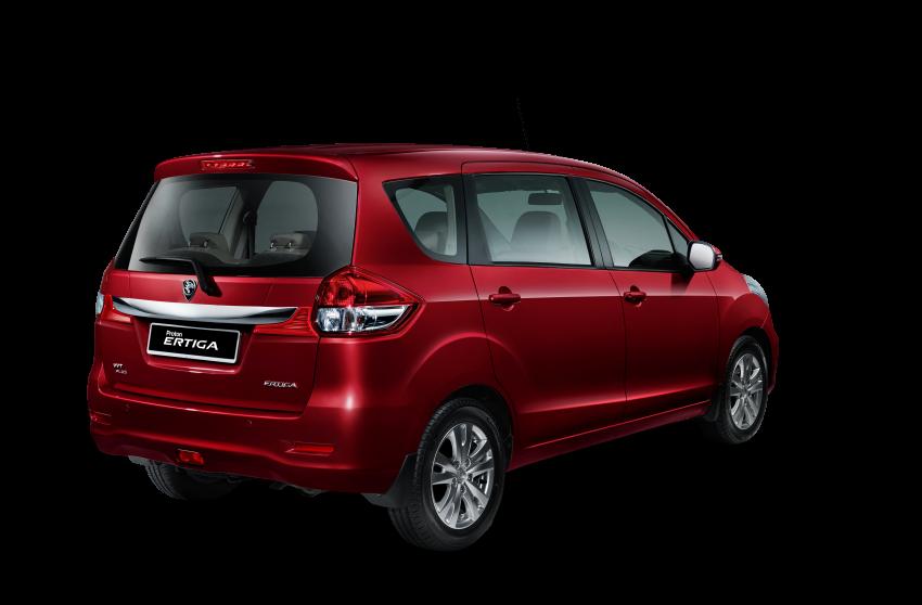 Proton Ertiga MPV launched in Malaysia – RM59k-65k Image #584063