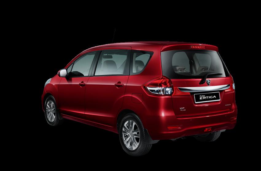 Proton Ertiga MPV launched in Malaysia – RM59k-65k Image #584061