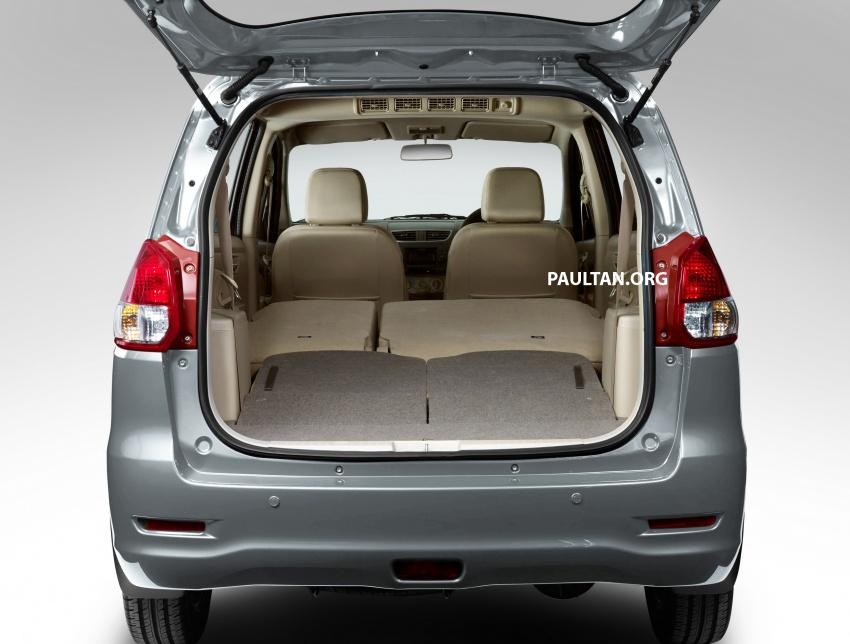 New Proton Ertiga MPV details revealed – a rebadged Suzuki, 1.4 litre MT/AT, EEV, four-star ASEAN NCAP Image #582060