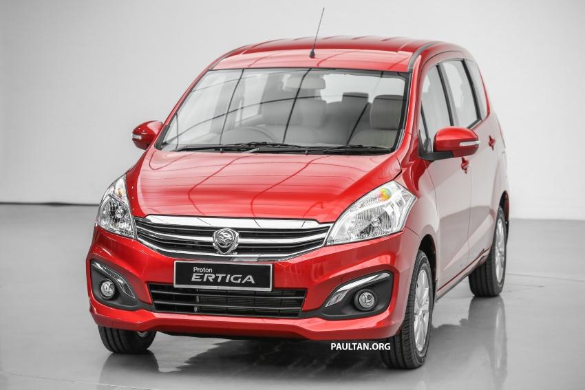 Proton Ertiga MPV launched in Malaysia – RM59k-65k Image #583702