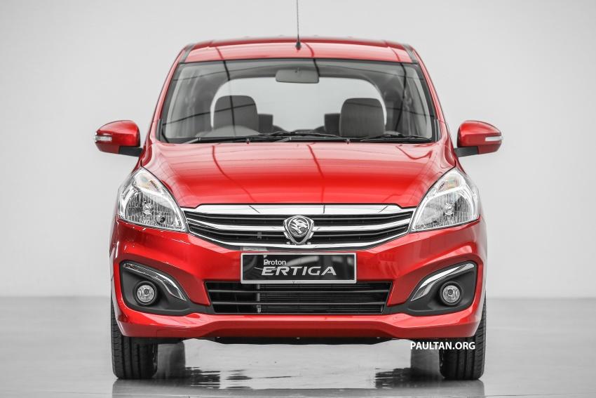 Proton Ertiga MPV launched in Malaysia – RM59k-65k Image #583626