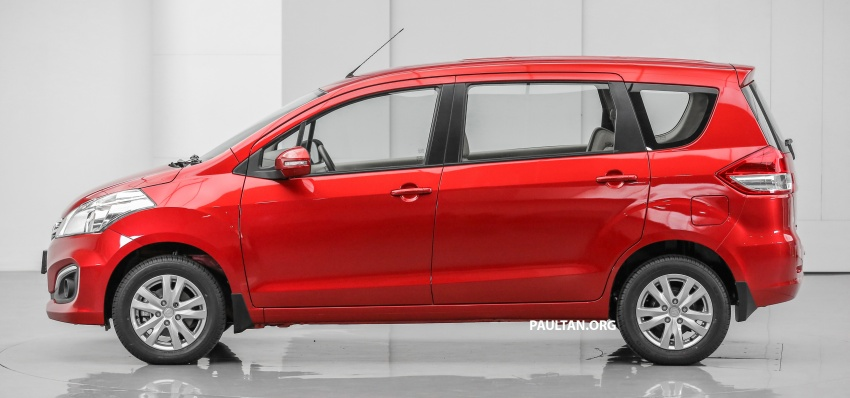 Proton Ertiga MPV launched in Malaysia – RM59k-65k Image #583630