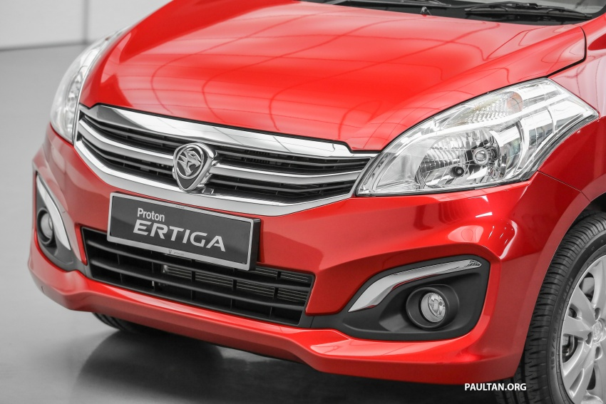 Proton Ertiga MPV launched in Malaysia – RM59k-65k Image #583632