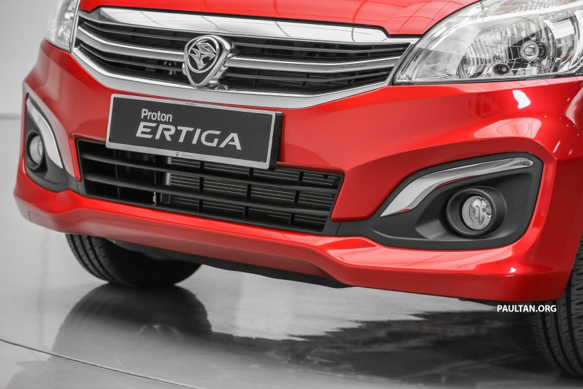 Proton Ertiga MPV launched in Malaysia – RM59k-65k Image #583637