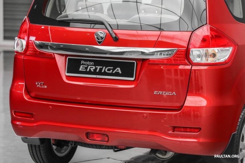 Proton Ertiga MPV launched in Malaysia – RM59k-65k Image #583645
