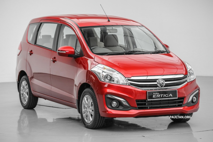 Proton Ertiga MPV launched in Malaysia – RM59k-65k Image #583704