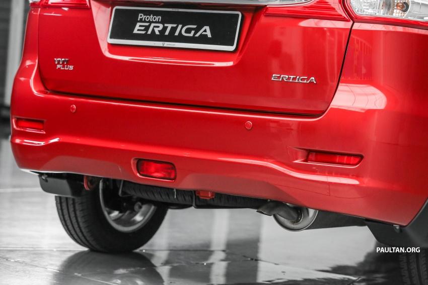Proton Ertiga MPV launched in Malaysia – RM59k-65k Image #583649