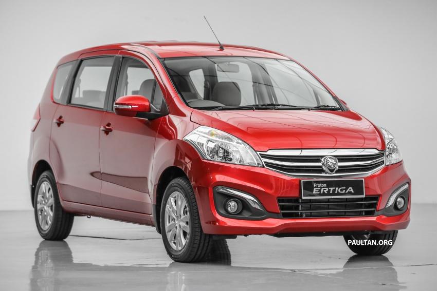Proton Ertiga MPV launched in Malaysia – RM59k-65k Image #583705