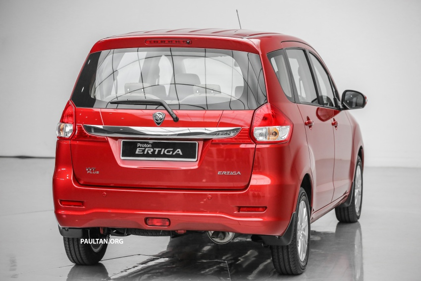Proton Ertiga MPV launched in Malaysia – RM59k-65k Image #583706