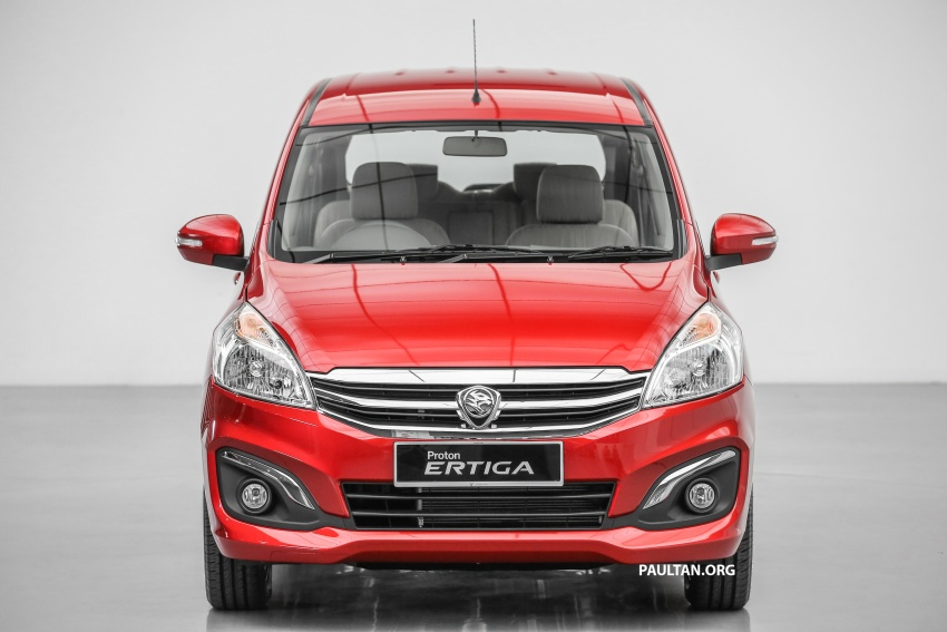 Proton Ertiga MPV launched in Malaysia – RM59k-65k Image #583625