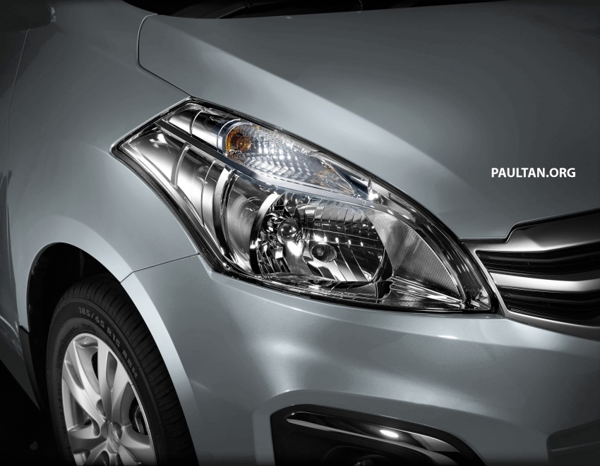 New Proton Ertiga MPV details revealed – a rebadged Suzuki, 1.4 litre MT/AT, EEV, four-star ASEAN NCAP Image #582068