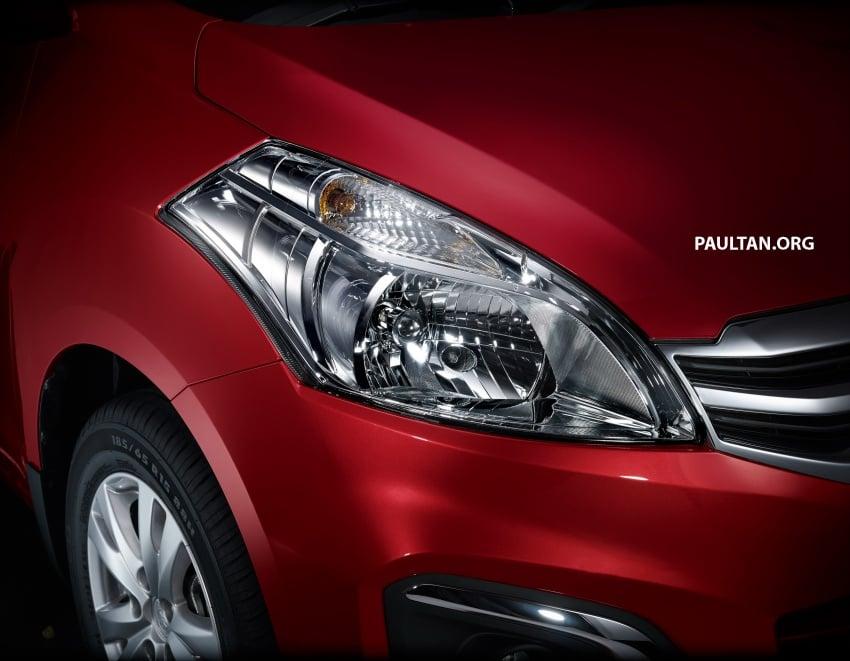 New Proton Ertiga MPV details revealed – a rebadged Suzuki, 1.4 litre MT/AT, EEV, four-star ASEAN NCAP Image #582069