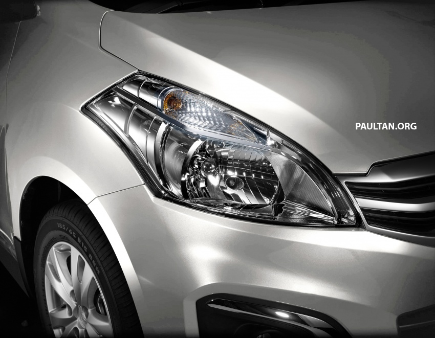 New Proton Ertiga MPV details revealed – a rebadged Suzuki, 1.4 litre MT/AT, EEV, four-star ASEAN NCAP Image #582070