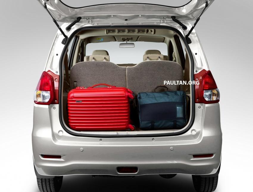 New Proton Ertiga MPV details revealed – a rebadged Suzuki, 1.4 litre MT/AT, EEV, four-star ASEAN NCAP Image #582078
