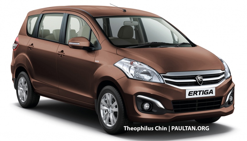 New Proton Ertiga MPV details revealed – a rebadged Suzuki, 1.4 litre MT/AT, EEV, four-star ASEAN NCAP Image #582125