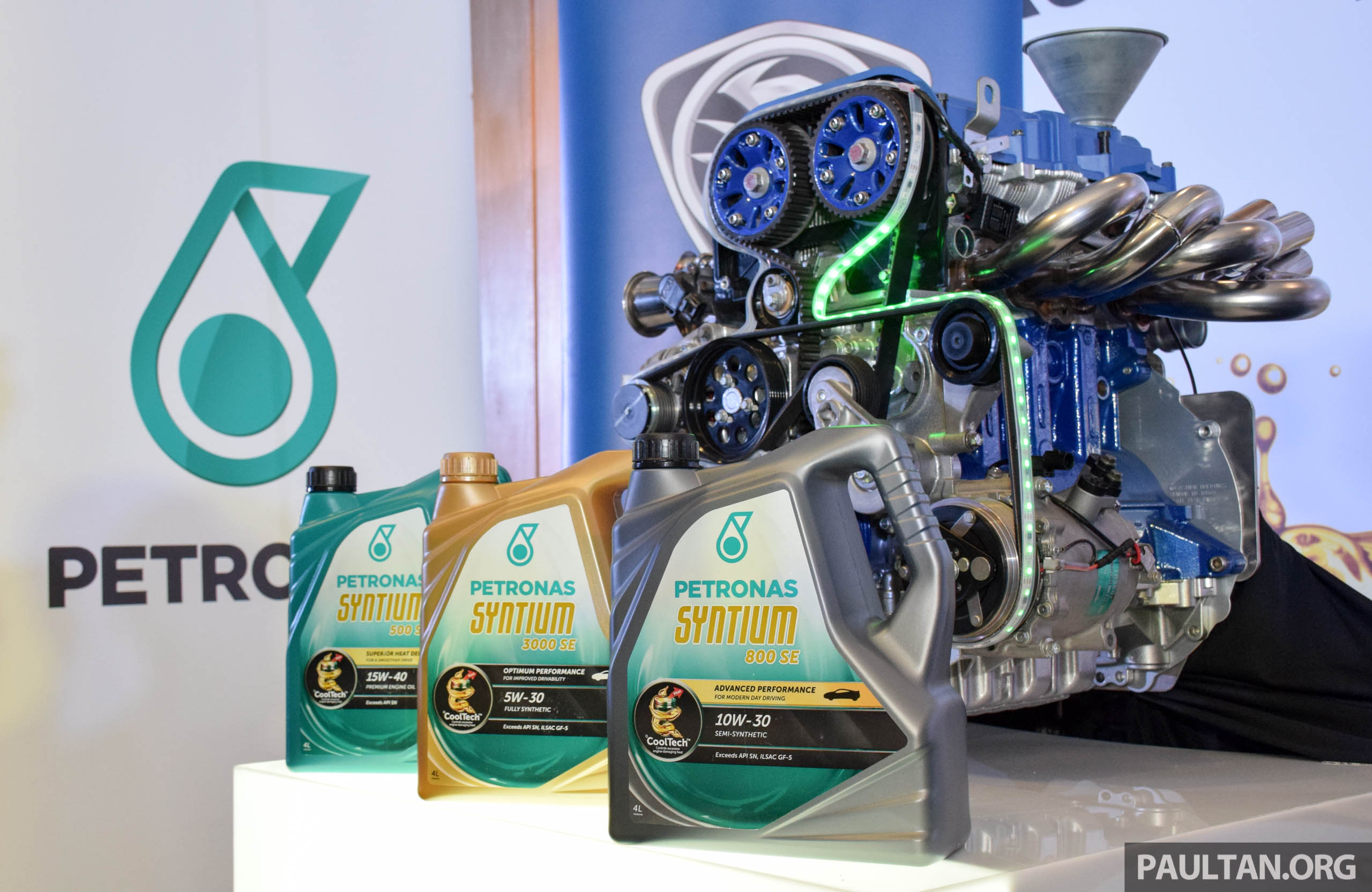 Spot Loan Reviews >> Petronas Syntium SE launched – optimised for Proton
