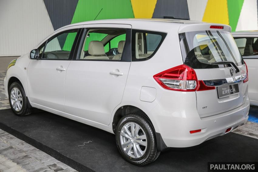 MPV Proton Ertiga dilancarkan – enam-tempat duduk, 1.4 liter VVT, harga bermula RM58,800 – RM64,800 Image #584489