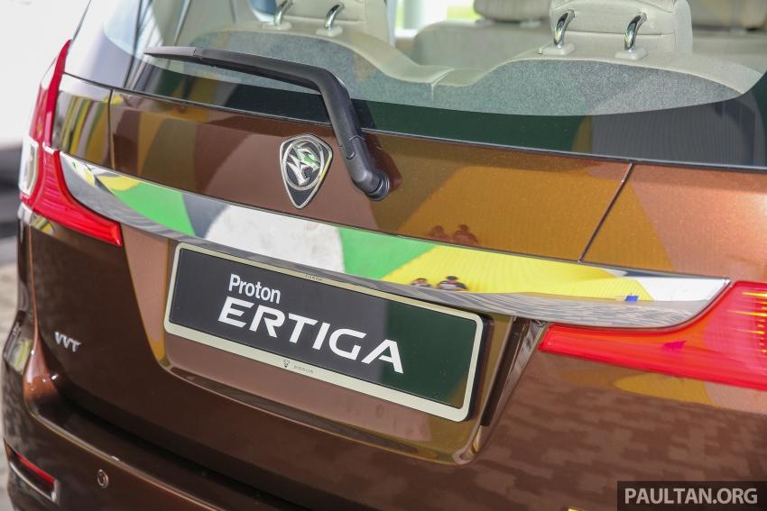 MPV Proton Ertiga dilancarkan – enam-tempat duduk, 1.4 liter VVT, harga bermula RM58,800 – RM64,800 Image #584455