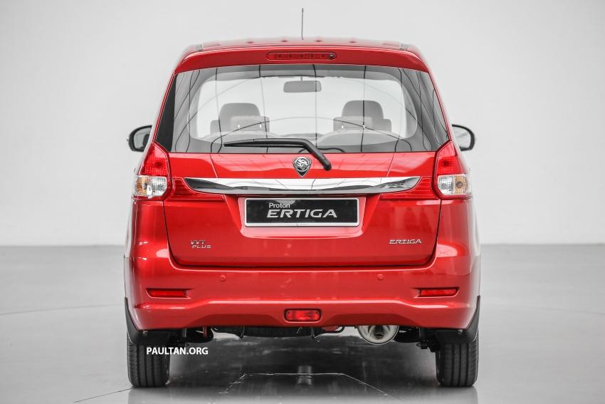 MPV Proton Ertiga dilancarkan – enam-tempat duduk, 1.4 liter VVT, harga bermula RM58,800 – RM64,800 Image #583492