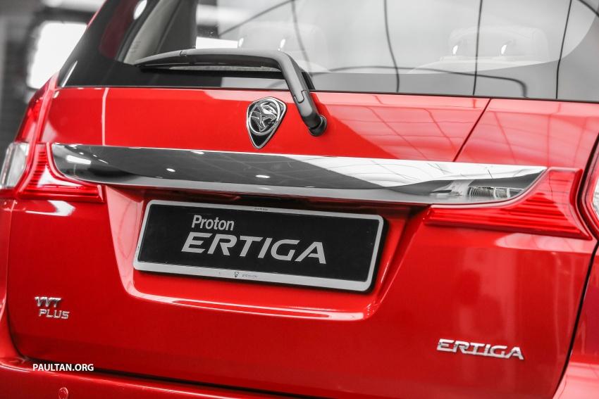 MPV Proton Ertiga dilancarkan – enam-tempat duduk, 1.4 liter VVT, harga bermula RM58,800 – RM64,800 Image #583513