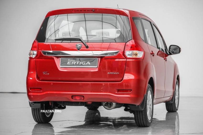 MPV Proton Ertiga dilancarkan – enam-tempat duduk, 1.4 liter VVT, harga bermula RM58,800 – RM64,800 Image #583487
