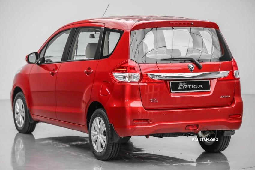 MPV Proton Ertiga dilancarkan – enam-tempat duduk, 1.4 liter VVT, harga bermula RM58,800 – RM64,800 Image #583488