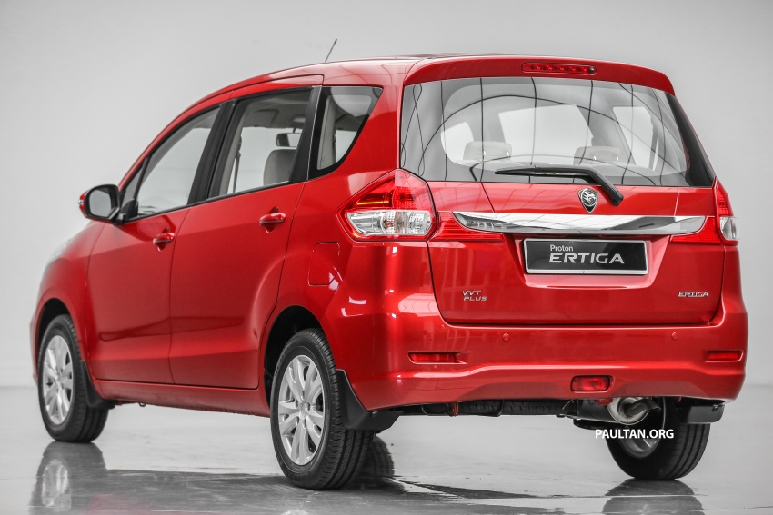 MPV Proton Ertiga dilancarkan – enam-tempat duduk, 1.4 liter VVT, harga bermula RM58,800 – RM64,800 Image #583489