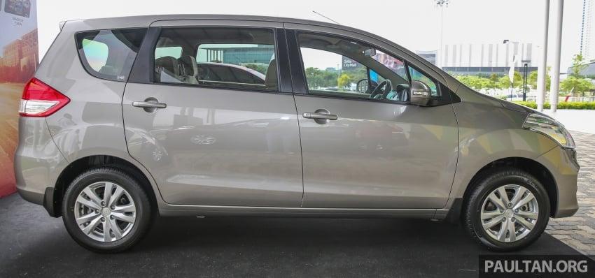 MPV Proton Ertiga dilancarkan – enam-tempat duduk, 1.4 liter VVT, harga bermula RM58,800 – RM64,800 Image #584448