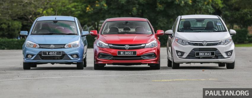 GALLERY: Proton sedans – Perdana, Persona, Saga Image #579531