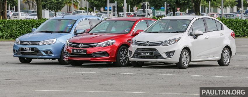GALLERY: Proton sedans – Perdana, Persona, Saga Image #579534