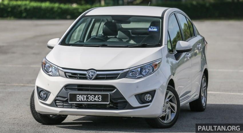 GALLERY: Proton sedans – Perdana, Persona, Saga Image #579730